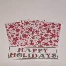 Happy Holidays - 4pc Mat Set