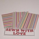 Sewn With Love - 4pc Mat Set