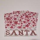 Santa 1 - 4pc Mat Set