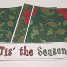 Tis The Season a - 4pc Mat Set