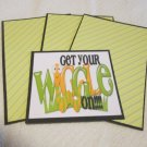 Get Your Wiggle On - Title/Saying Mat Set