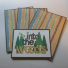 Into The Woods - Title/Saying Mat Set