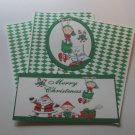 Merry Christmas Elves - Title/Saying Mat Set