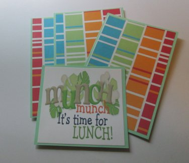 Munch Munch Dino - Title/Saying Mat Set