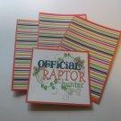 Official Raptor Hunter - Title/Saying Mat Set