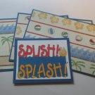 Splish Splash - Title/Saying Mat Set