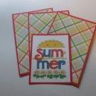 Summer - Title/Saying Mat Set
