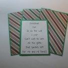 Christmas Eve - Title/Saying Mat Set