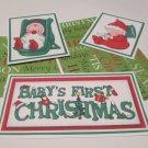 Baby 1st Christmas - 5 piece mat set