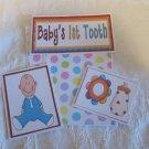 Baby 1st Tooth Boy - 5 piece mat set