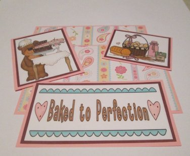 Baked To Perfection - 5 piece mat set
