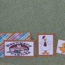 Barnyard Friends chicks - 5 piece mat set