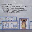 Bathtime - 5 piece mat set