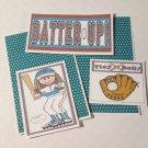 Batter Up Girl - 5 piece mat set