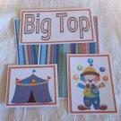 Big Top Boy - 5 piece mat set