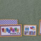 Birthday Party - 5 piece mat set