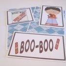 Boo Boo Boy a - 5 piece mat set