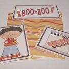 Boo Boo Boy - 5 piece mat set