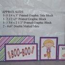 Boo Boo Girl - 5 piece mat set