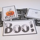 Boo Ghosts - 5 piece mat set