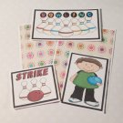 Bowling Boy - 5 piece mat set