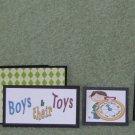 Boys and Their Toys - 5 piece mat set