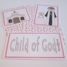 Child Of God Girl - 5 piece mat set