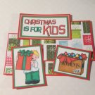 Christmas Is For Kids Boy - 5 piece mat set