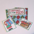 Christmas Is For Kids Girl a - 5 piece mat set