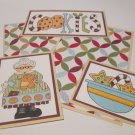 Cookies Grandma - 5 piece mat set
