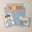 Feel Better Boy - 5 piece mat set