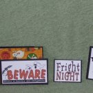 Fright Night 2 - 5 piece mat set