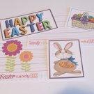 Happy Easter Brown Bunny - 5 piece mat set