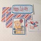 Happy 4th of July Boy - 5 piece mat set
