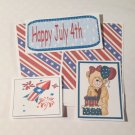 Happy 4th of July Girl - 5 piece mat set