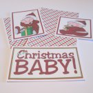 I'm The Christmas Baby a - 5 piece mat set