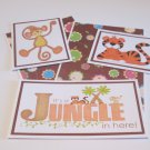 It's A Jungle In Here a - 5 piece mat set
