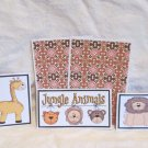 Jungle Animals - 5 piece mat set