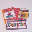 Kindergarten a - 5 piece mat set