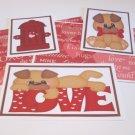 Love Puppy Boy - 5 piece mat set