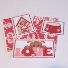 Love Puppy Girl - 5 piece mat set