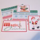 Magic of Christmas km a - 5 piece mat set