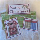 Merry Christmas Country - 5 piece mat set
