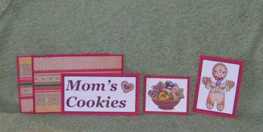 Mom's Cookies - 5 piece mat set