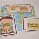 Potty Training Boy - 5 piece mat set