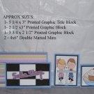 Soda Shop Boy and Girl - 5 piece mat set