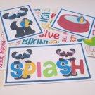 Splash Boy - 5 piece mat set