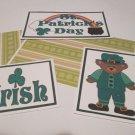 St Patrick's Day Boy a - 5 piece mat set