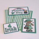 St Patrick's Day Girl - 5 piece mat set