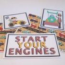 Start Your Engine b - 5 piece mat set